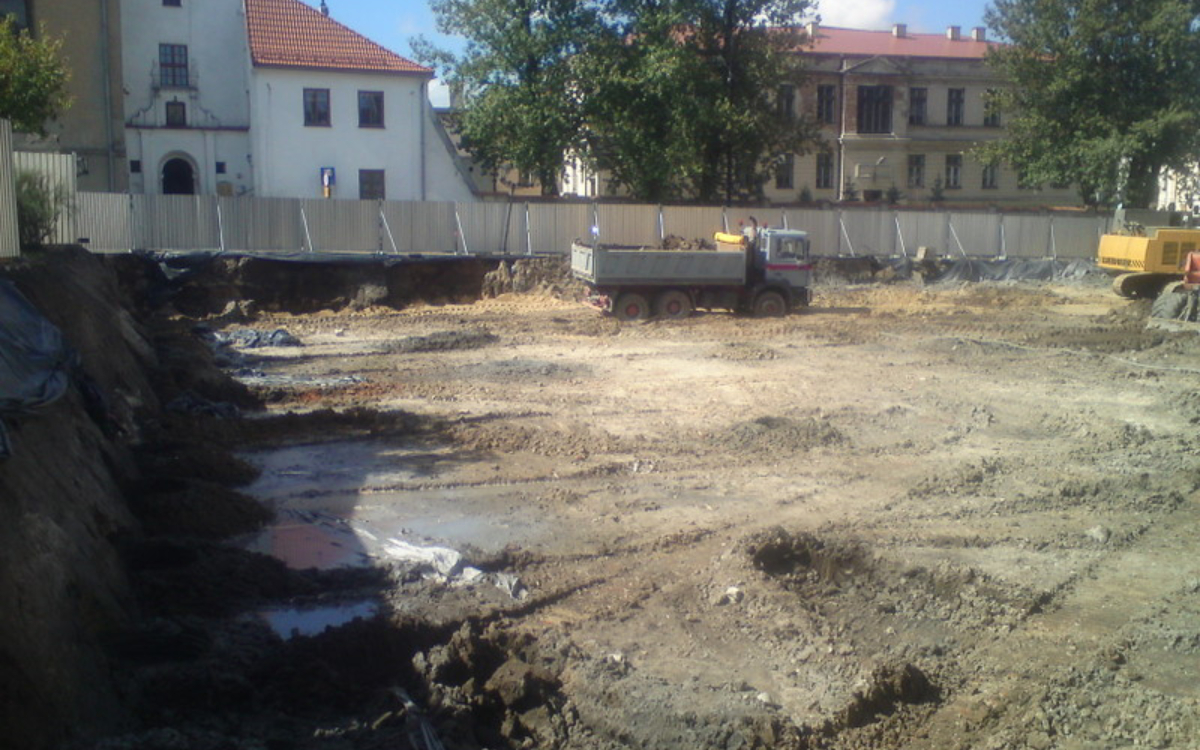 Budowa fundamentów Kraków