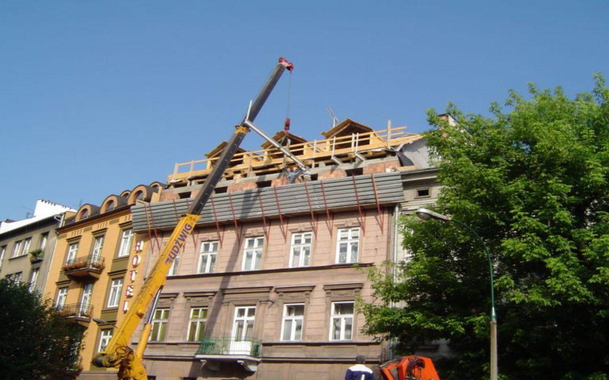 Prace budowlane Kraków
